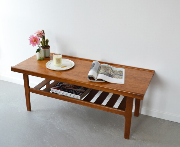 Table basse scandinave- vintage - © Sandelin concept store